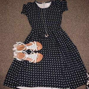 LuLaRoe Amelia dress: like new !